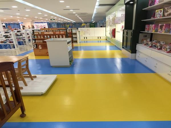 商场塑胶地板